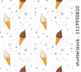 seamless pattern of colorful... | Shutterstock .eps vector #1119950810