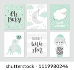 Set Of Cute Baby Vector...