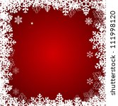 abstract beauty christmas and... | Shutterstock .eps vector #111998120