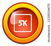 vector 5k icon ultra hd design  ... | Shutterstock .eps vector #1120014470