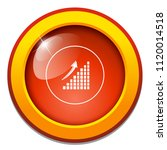 area chart flat icon   chart ... | Shutterstock .eps vector #1120014518