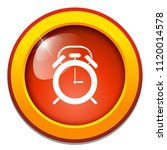 vector alarm system. alert time ... | Shutterstock .eps vector #1120014578