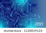 colorful microscheme design.... | Shutterstock .eps vector #1120019123
