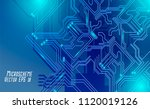colorful microscheme design.... | Shutterstock .eps vector #1120019126
