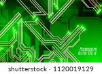 colorful microscheme design.... | Shutterstock .eps vector #1120019129