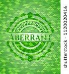 aberrant green mosaic emblem   Shutterstock .eps vector #1120020416