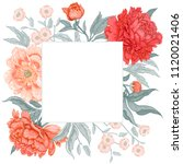template vintage card for the... | Shutterstock .eps vector #1120021406