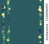 rhombus border minimal...   Shutterstock .eps vector #1120046093