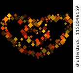 rhombus card minimal geometric...   Shutterstock .eps vector #1120046159