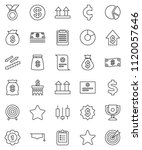 thin line vector icon set  ...   Shutterstock .eps vector #1120057646