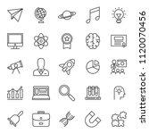 set of simple education black... | Shutterstock .eps vector #1120070456