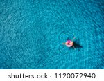 aerial view of young woman... | Shutterstock . vector #1120072940