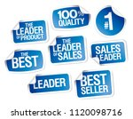 sale advertisign stickers... | Shutterstock .eps vector #1120098716