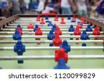 table football. close up.   Shutterstock . vector #1120099829