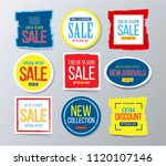 sale and discounts label ... | Shutterstock .eps vector #1120107146
