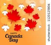 vector illustration of a banner ... | Shutterstock .eps vector #1120125806