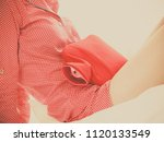 painful periods and menstrual... | Shutterstock . vector #1120133549