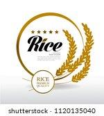 gold rice grand vector | Shutterstock .eps vector #1120135040