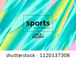 abstract sports background with ... | Shutterstock .eps vector #1120137308