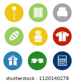 online marketing, e-commerce and shopping Icons, online business store - vector shopping and sale illustrations collection | Shutterstock vector #1120140278