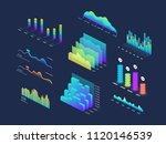 future tech 3d isometric data... | Shutterstock .eps vector #1120146539