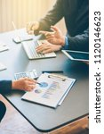 business analysis and strategy | Shutterstock . vector #1120146623