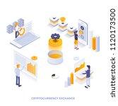 modern flat design isometric... | Shutterstock .eps vector #1120173500