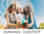 summer lifestyle portrait... | Shutterstock . vector #1120175279