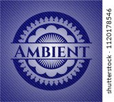 ambient emblem with jean high... | Shutterstock .eps vector #1120178546