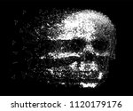 vector skull illustration made... | Shutterstock .eps vector #1120179176
