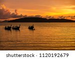 golden light of sunset to the... | Shutterstock . vector #1120192679