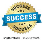 success round isolated gold... | Shutterstock .eps vector #1120194026