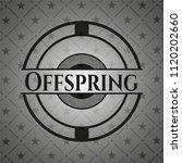 offspring realistic dark emblem   Shutterstock .eps vector #1120202660