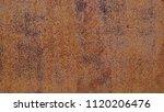 rust texture on steel . | Shutterstock . vector #1120206476