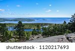 Beautiful view of the archipelago in the high coast. UNESCO, World Heritage. Sweden