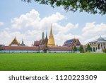 wat phra keaw  the temple of... | Shutterstock . vector #1120223309