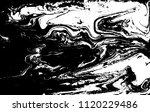 black and white liquid texture. ... | Shutterstock .eps vector #1120229486