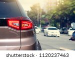 cars on the road heading... | Shutterstock . vector #1120237463