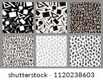 seamless patterns with... | Shutterstock .eps vector #1120238603