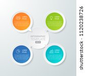 infographic template for... | Shutterstock .eps vector #1120238726