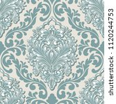 vector volumetric damask... | Shutterstock .eps vector #1120244753