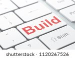 construction concept  computer...   Shutterstock . vector #1120267526