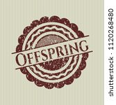red offspring distressed rubber ...   Shutterstock .eps vector #1120268480