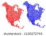sketch north america letter...   Shutterstock .eps vector #1120272743