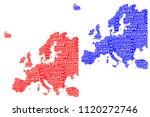 sketch europe letter text...   Shutterstock .eps vector #1120272746