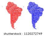 sketch south america letter...   Shutterstock .eps vector #1120272749