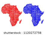 sketch african letter text... | Shutterstock .eps vector #1120272758