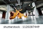 young woman wearing casual... | Shutterstock . vector #1120287449
