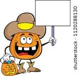 cartoon illustration of a... | Shutterstock .eps vector #1120288130