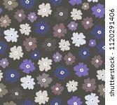 vector seamless pattern of neat ... | Shutterstock .eps vector #1120291406